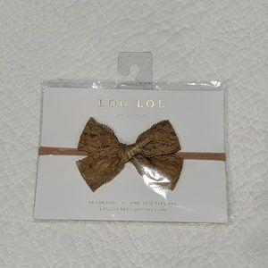 Vintage lace bow